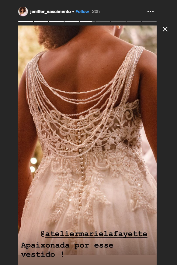 Vestido de noiva Jeniffer Nascimento