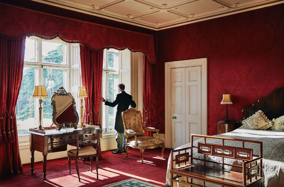 Castelo Downton Abbey no AirBnb