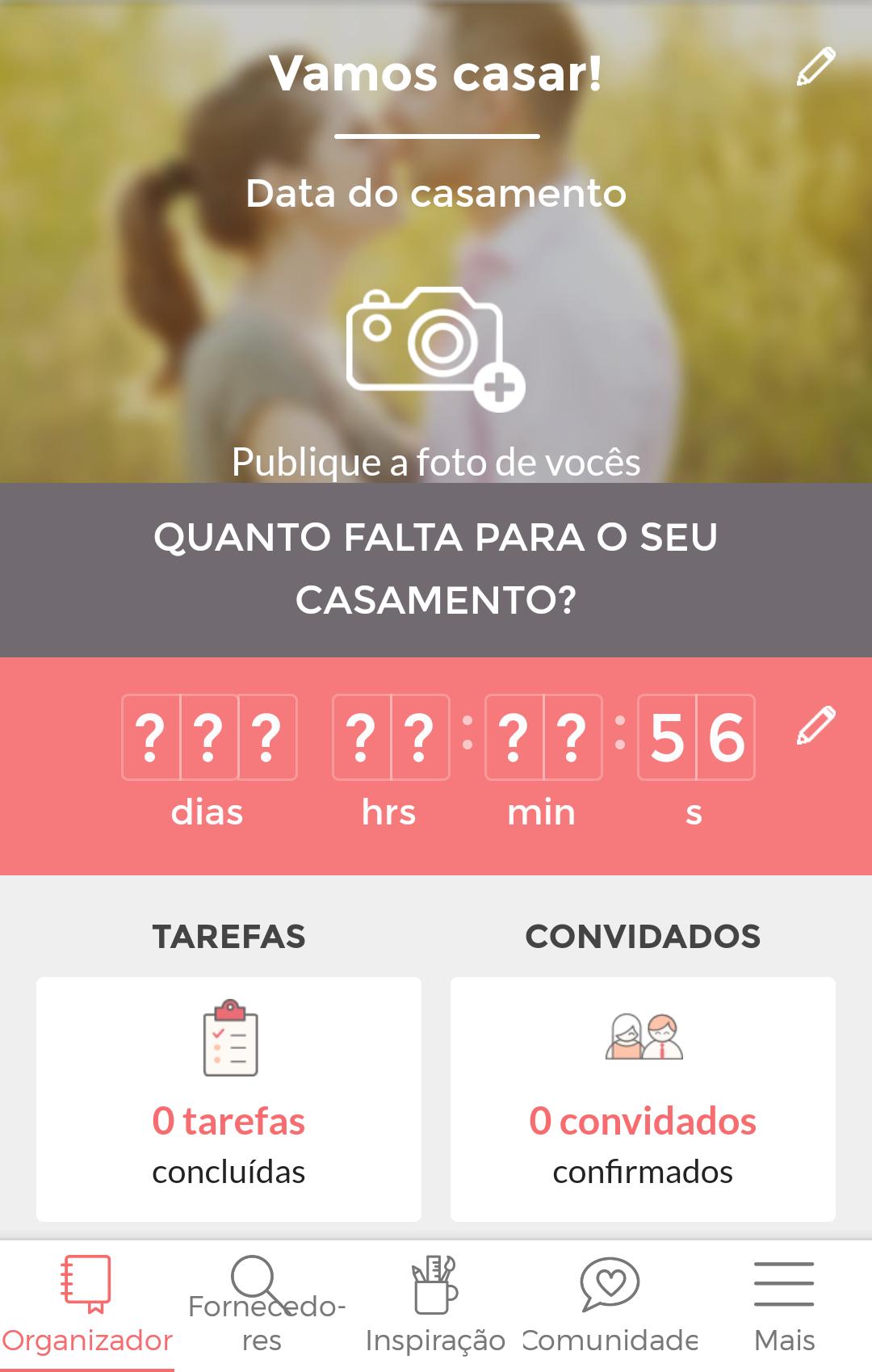 Aplicativos que te ajudam a organizar o casamento - Casamentos.com.br