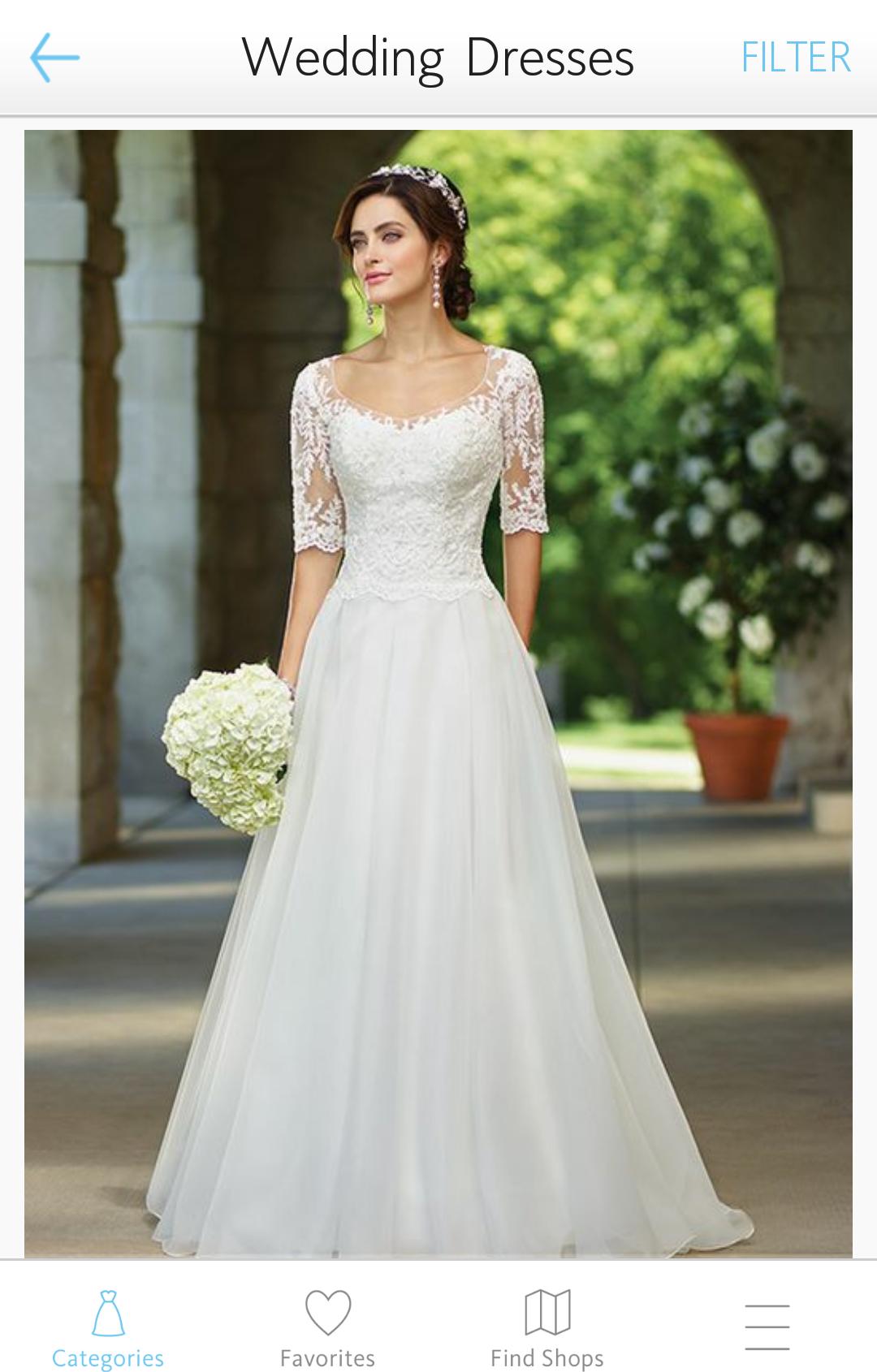 Aplicativos que te ajudam a organizar o casamento - Wedding dress lookbook