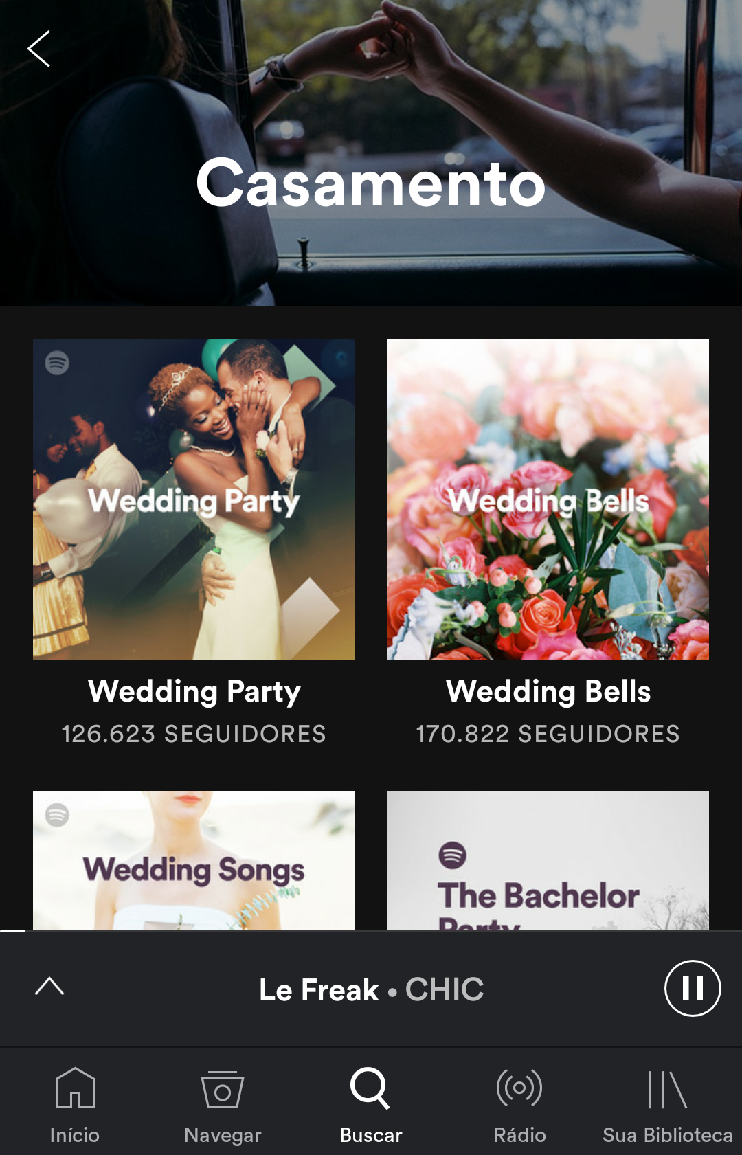 Aplicativos que te ajudam a organizar o casamento - Spotify Music