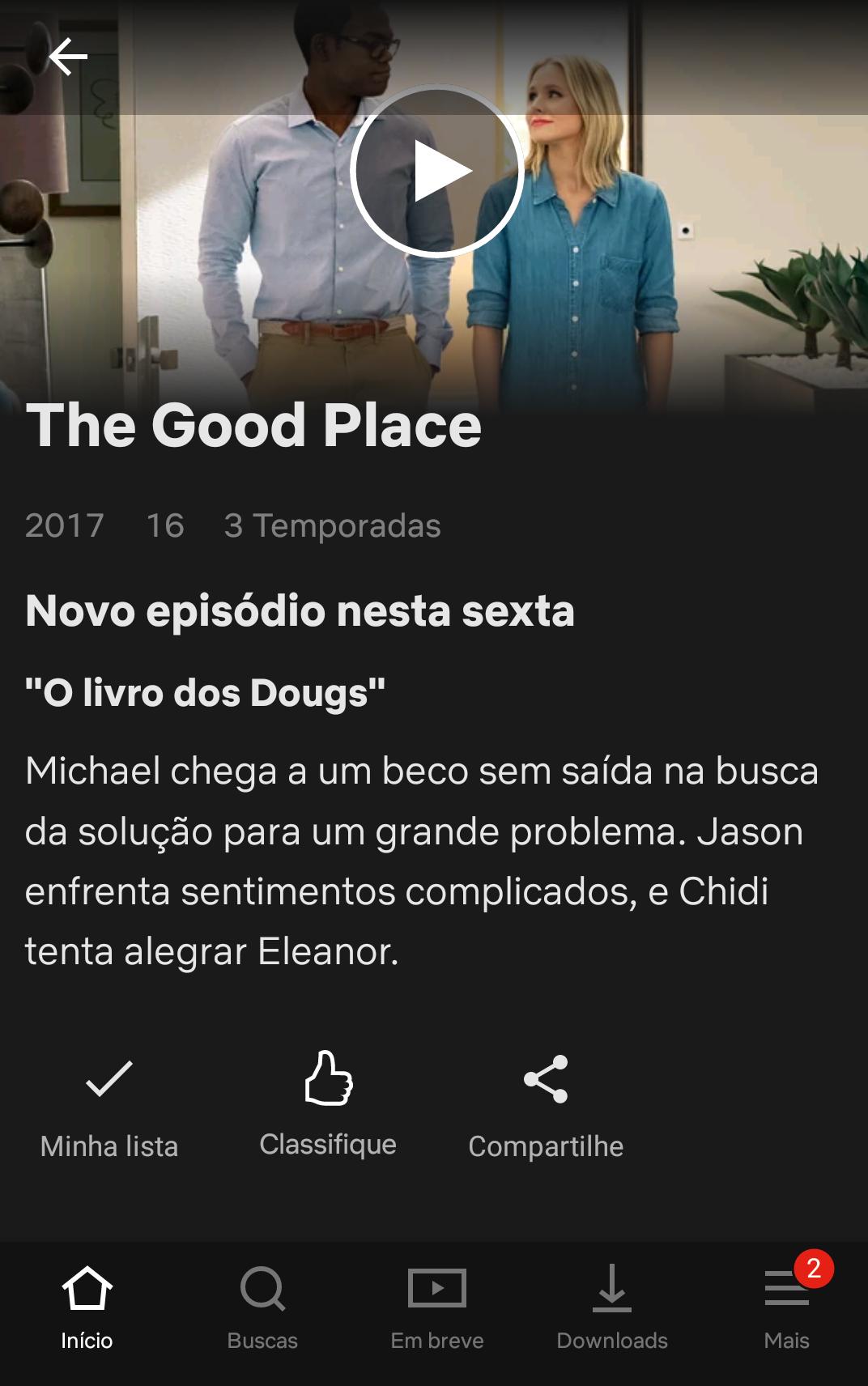 Netflix no Stories do Insta