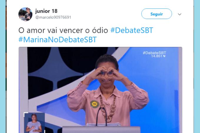 Meme da Marina Silva