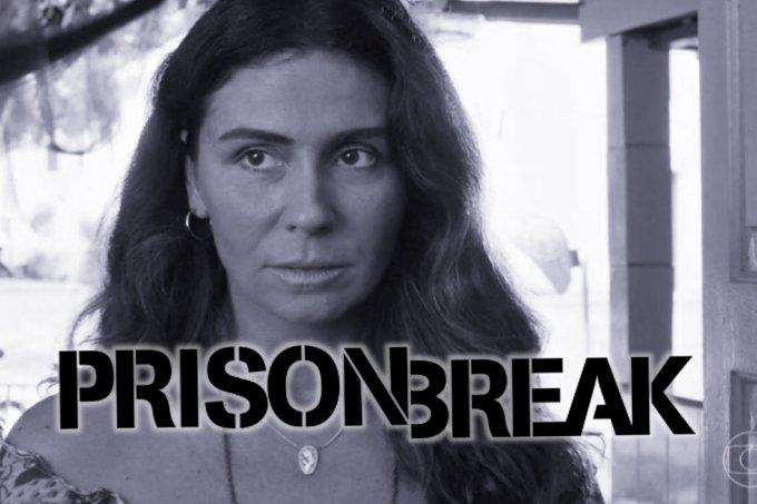 Resumo da novela Segundo Sol, Luzia foge da cadeia