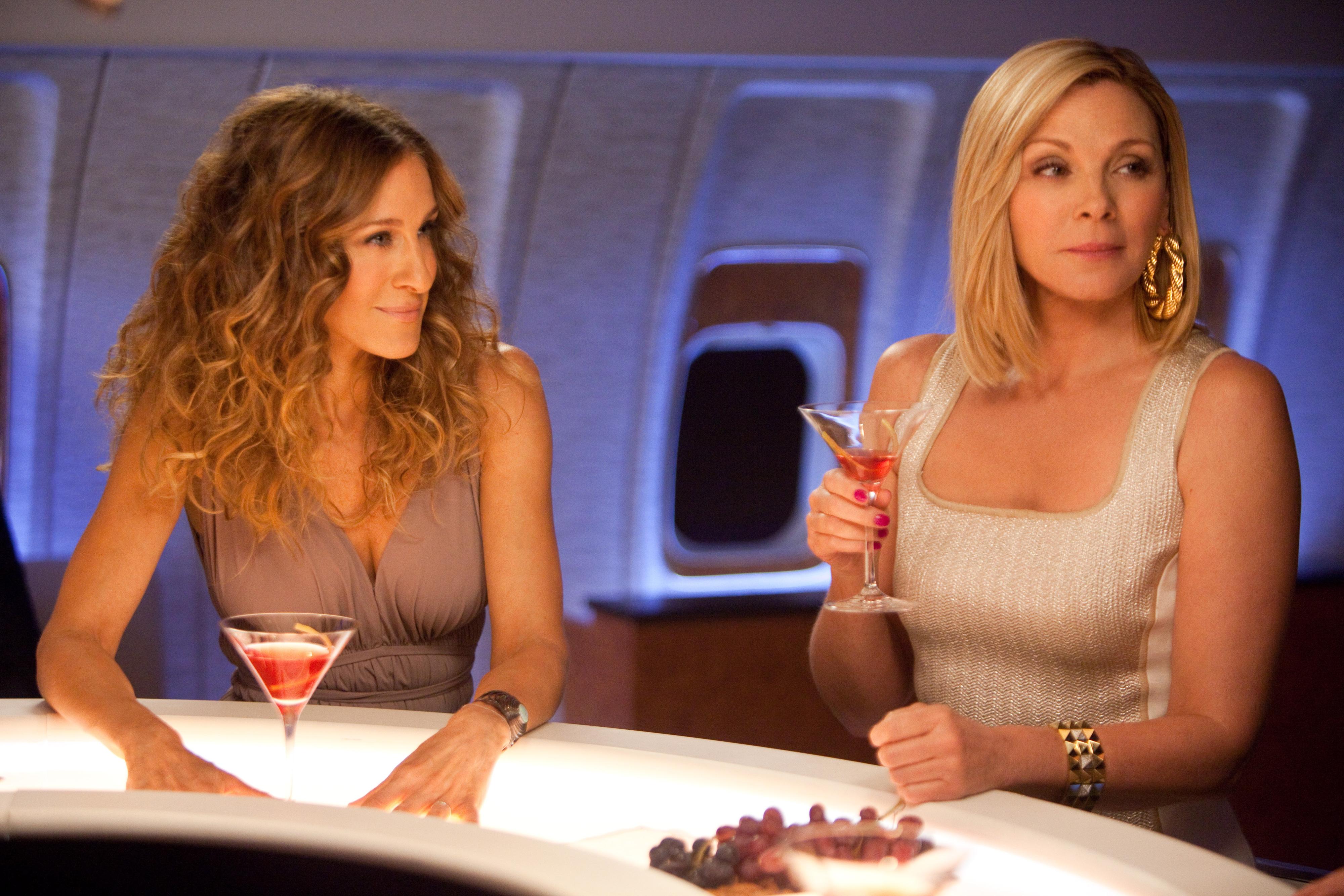 Carrie (Sarah Jessica Parker) e Samantha (Kim Cattrall)