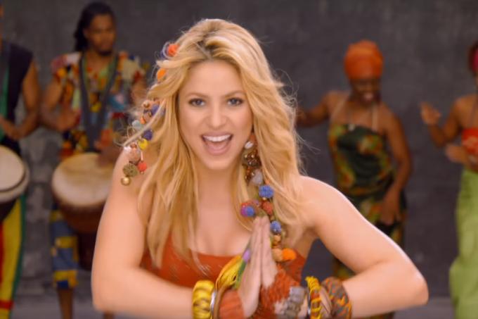 Shakira musica da copa waka waka