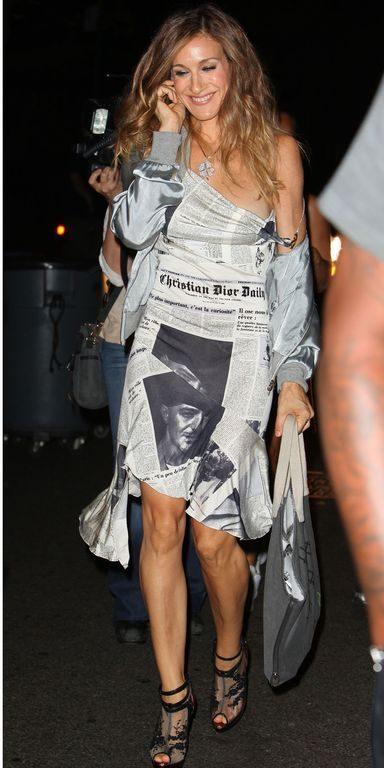 Carrie Bradshaw Estampa de jornal