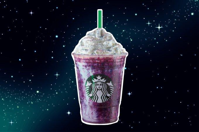 Starbucks – Galaxy Frappuccino