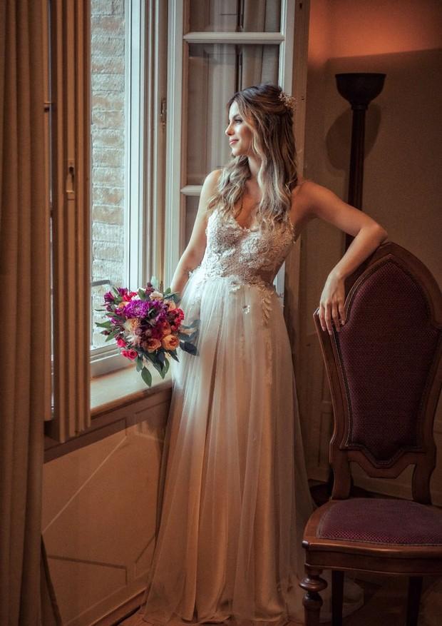 Vestido de noiva Sthefany Brito