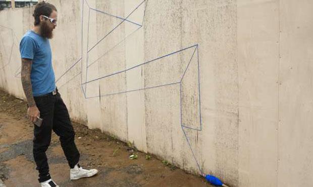 Street Art Costurada: os desenhos de Pado por São Paulo