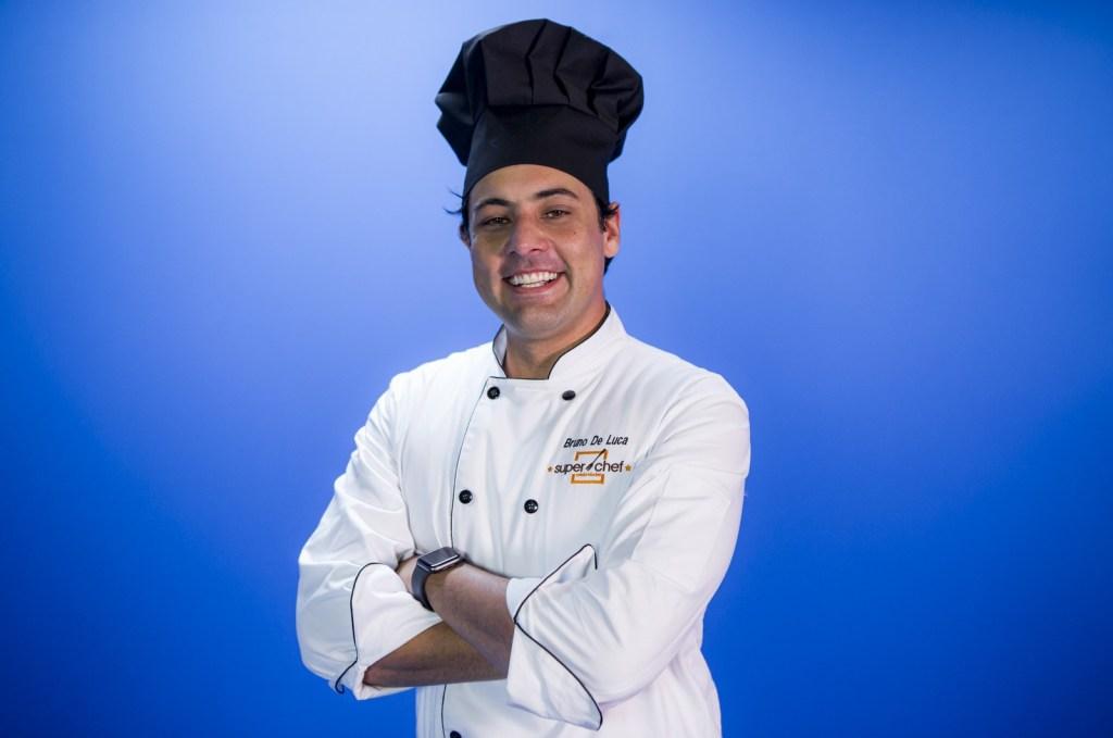 Bruno de Luca no Super Chef Celebridades