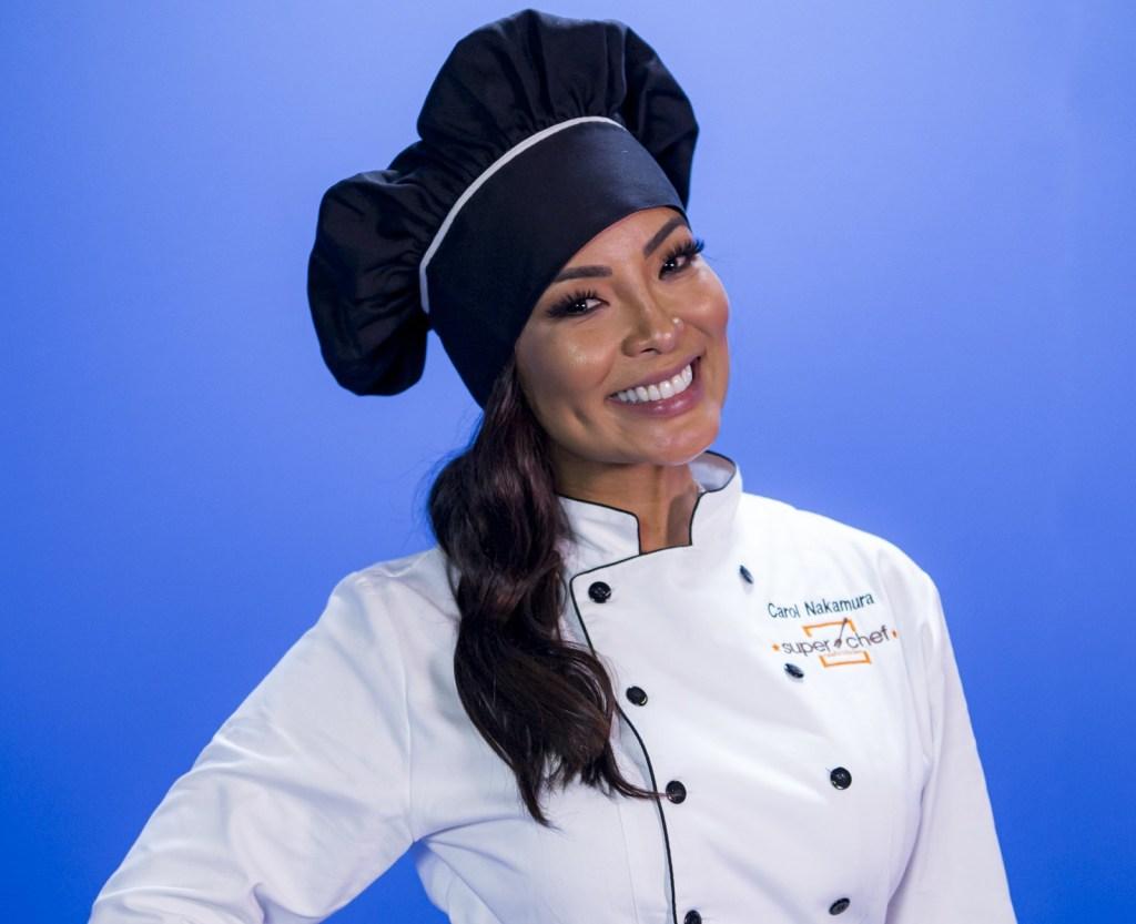 Carol Nakamura no Super Chef Celebridades