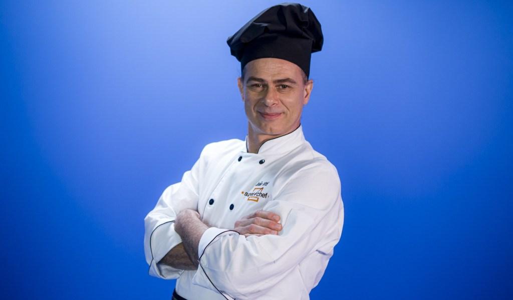 João Vitti no Super Chef Celebridades