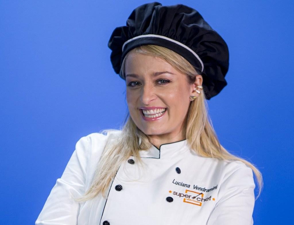 Luciana Vendramini no Super Chef Celebridades