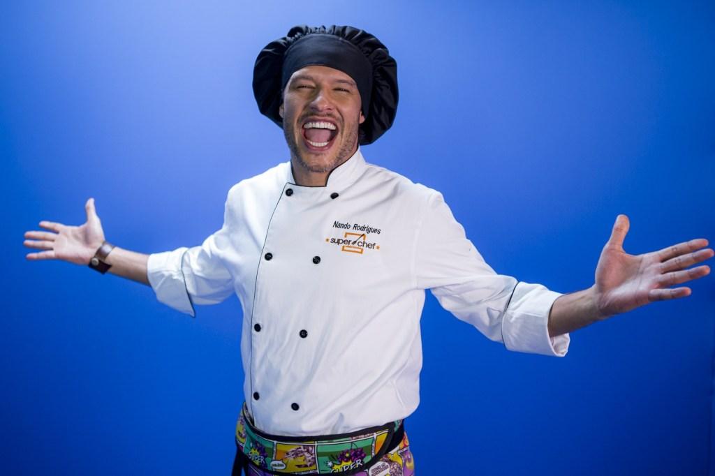 Nando Rodrigues no Super Chef Celebridades
