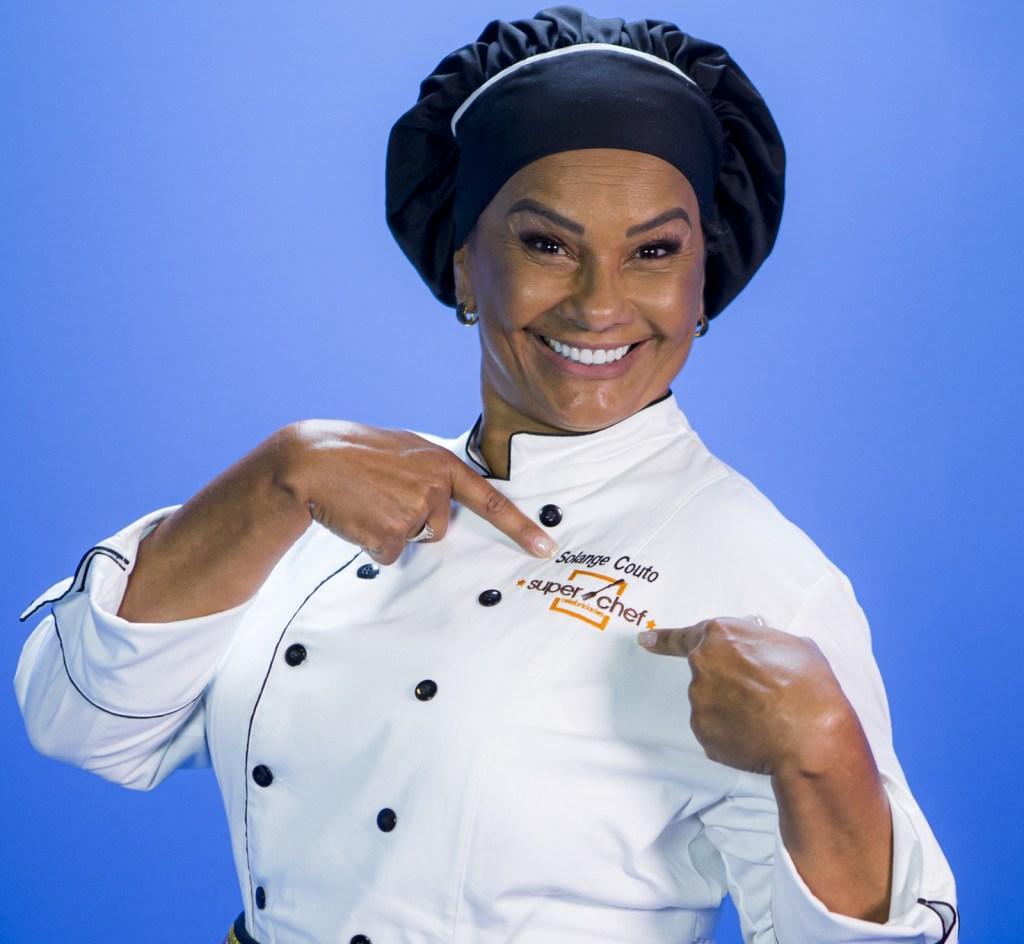Solange Couto no Super Chef Celebridades