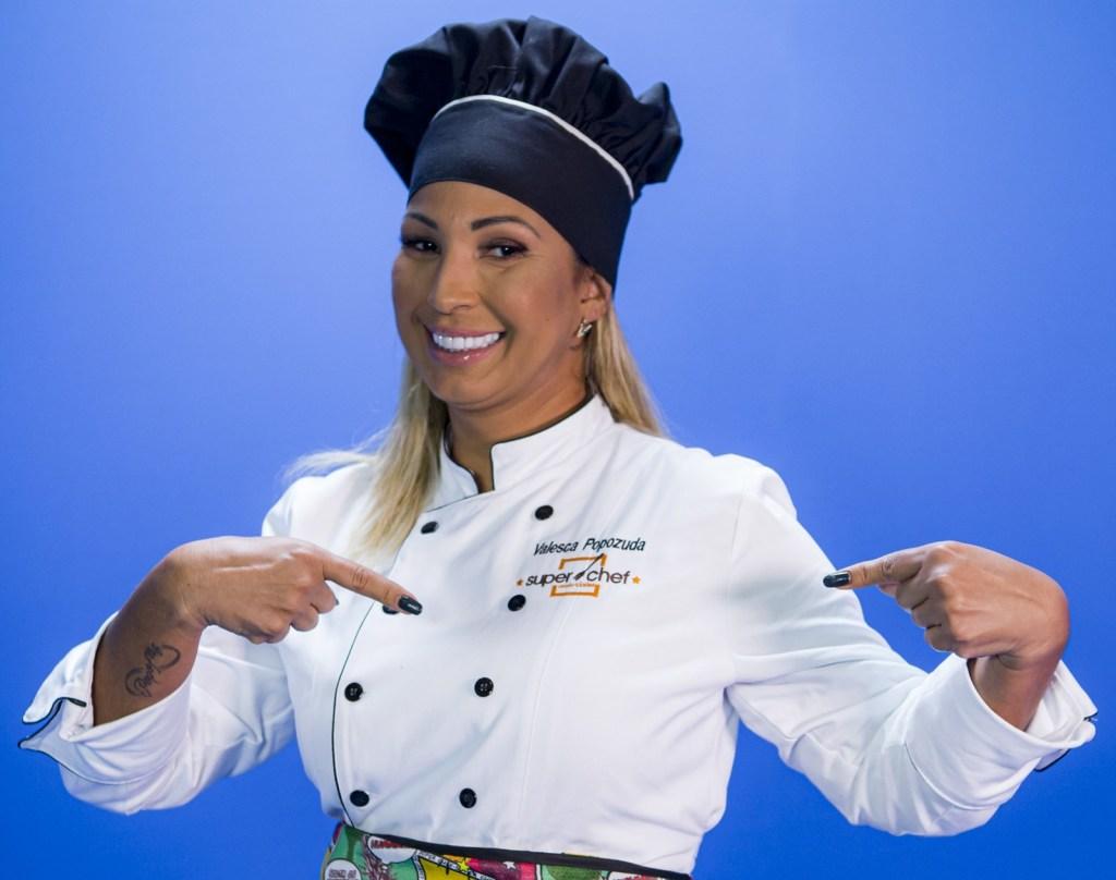Valesca Popozuda no Super Chef Celebridades