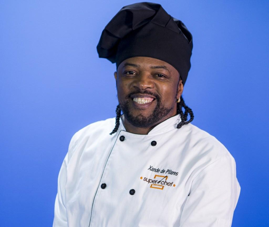 Xande de Pilares no Super Chef Celebridades