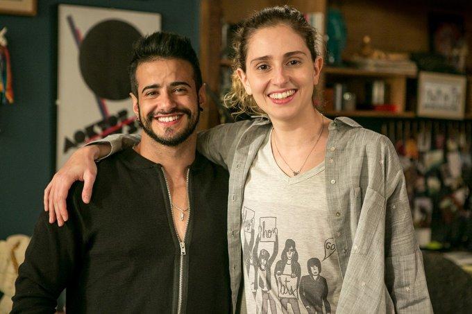 """Tereza Brant (Tarso Brant) e Ivana (Carol Duarte), de """"A Força do Querer"""""""