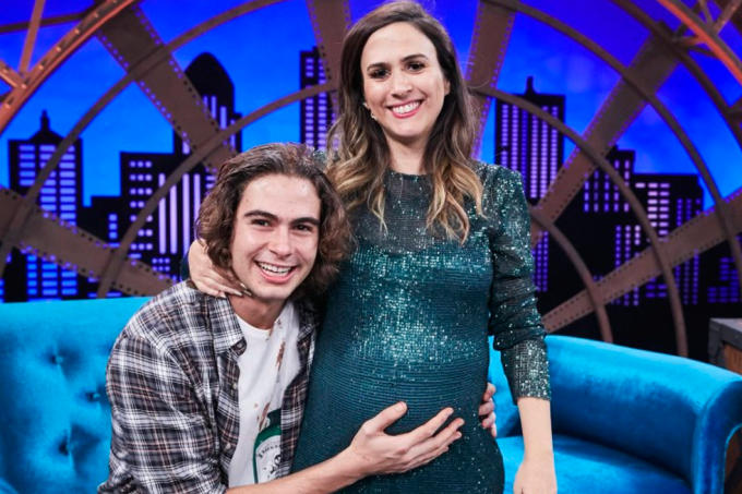 Rafa Vitti e Tatá Werneck no Lady Night