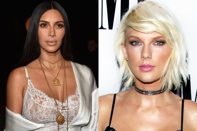 Kim Kardashian e Taylor Swift