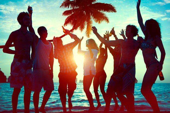 amigos-na-praia