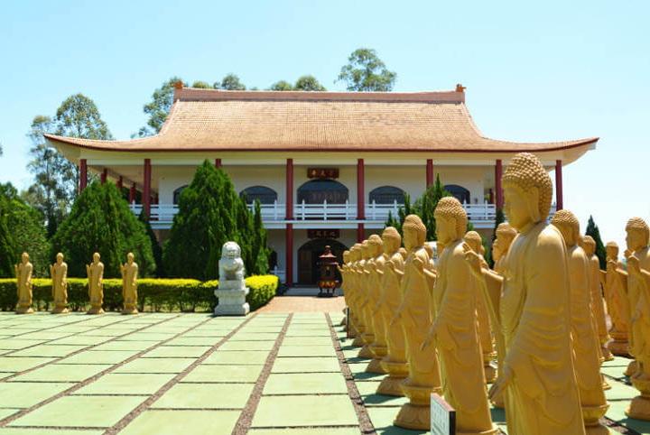 Templo Budista Chen Tien - Foz do Iguaçu PR