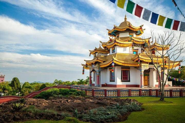 Templo Chagdud Gonpa Khadro Ling - Três Coroas RS