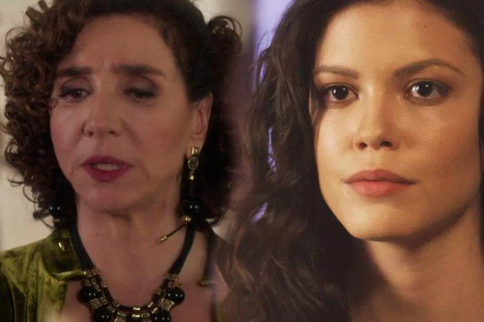 Resumo da novela Tempo de Amar, Celeste Hermínia e Maria Vitoria