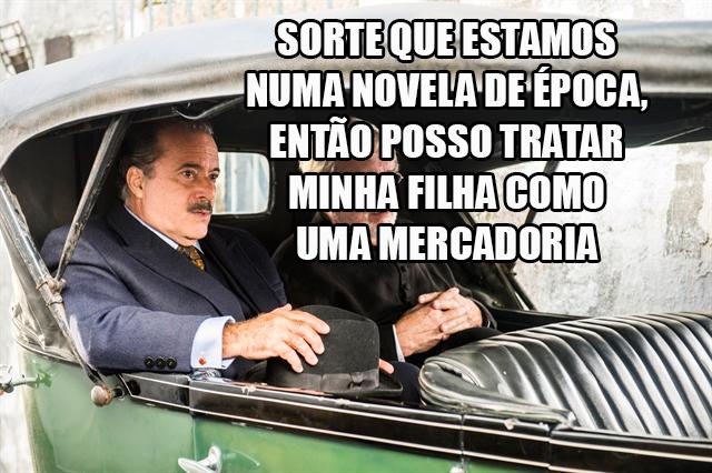 Resumo Tempo de Amar José Augusto