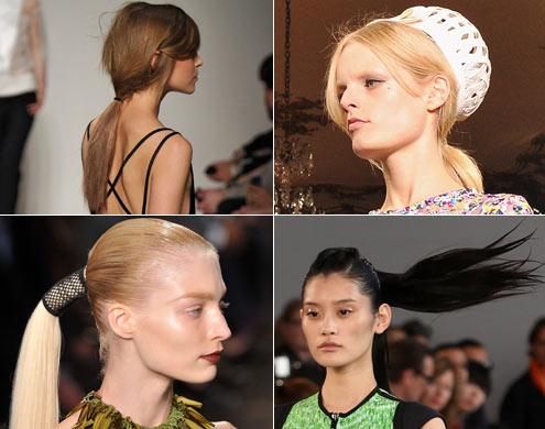 Verão 2012: 6 tendências de cabelo das semanas de moda internacionais