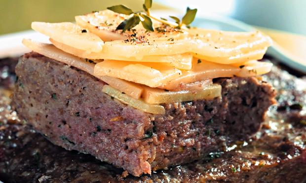 terrine de carne e batata
