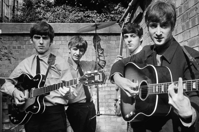 """Cena de """"The Beatles – Eight Days a Week: The Touring Years"""""""