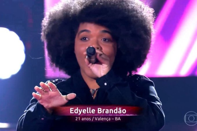 The Voice Brasil Edyelle Brandão