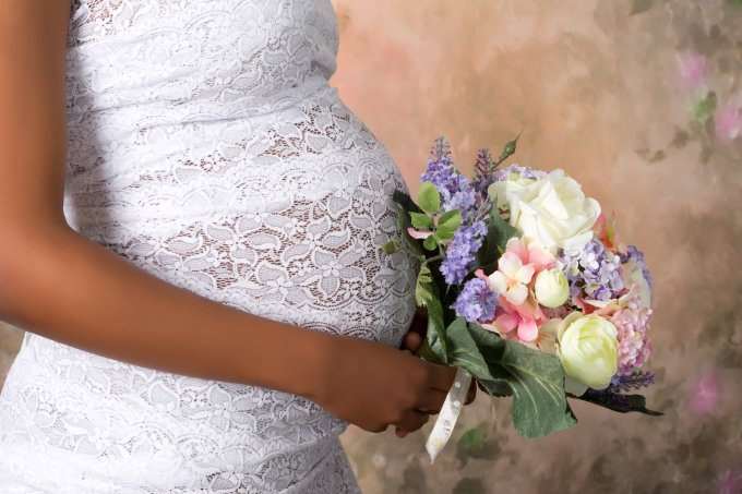 Vestidos para noivas grávidas