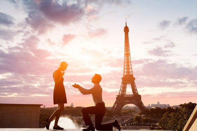 Os dez lugares para pedir alguém em casamento, segundo o Instagram