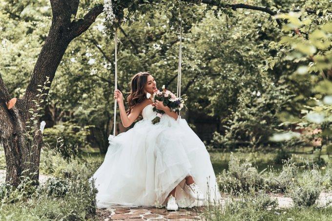 Tênis para noivas
