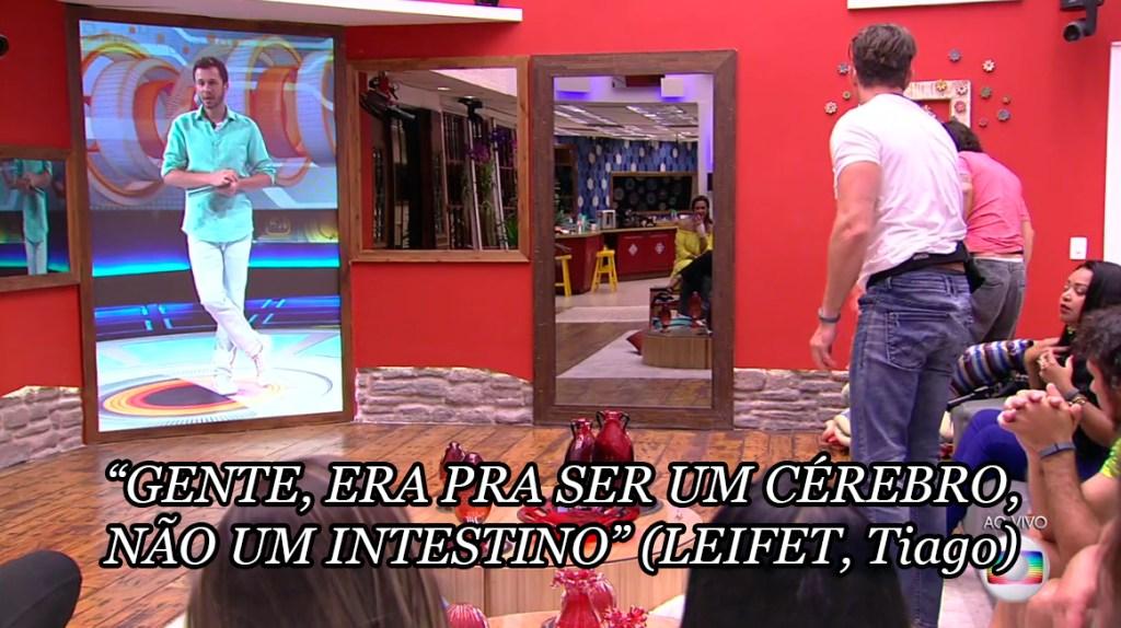 Tiago repreende no BBB17