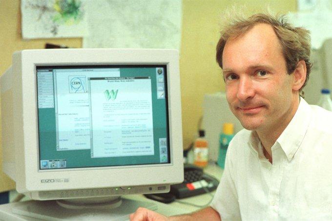 Tim Berners-Lee, criador da rede mundial de computadores, o www