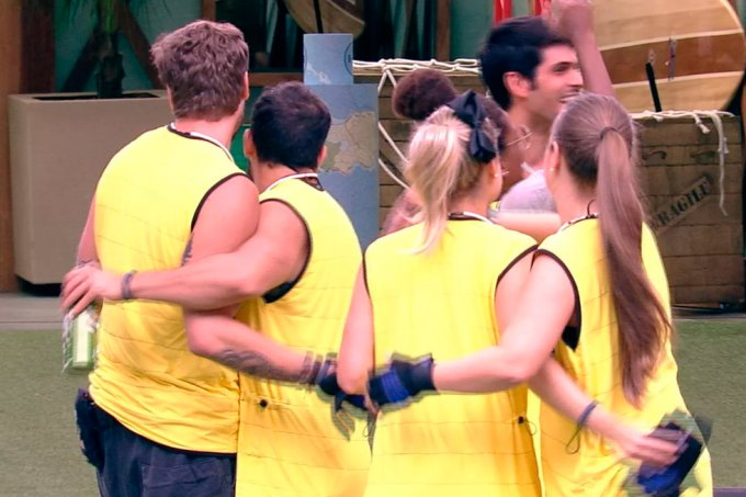 Time Amarelo BBB18