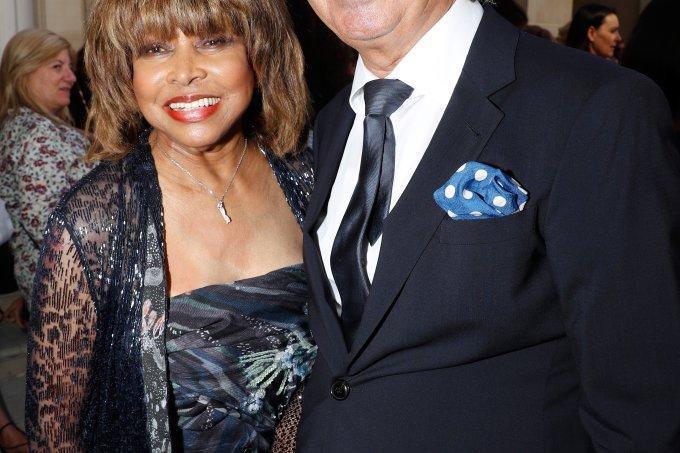 Tina Turner e Erwin Bach