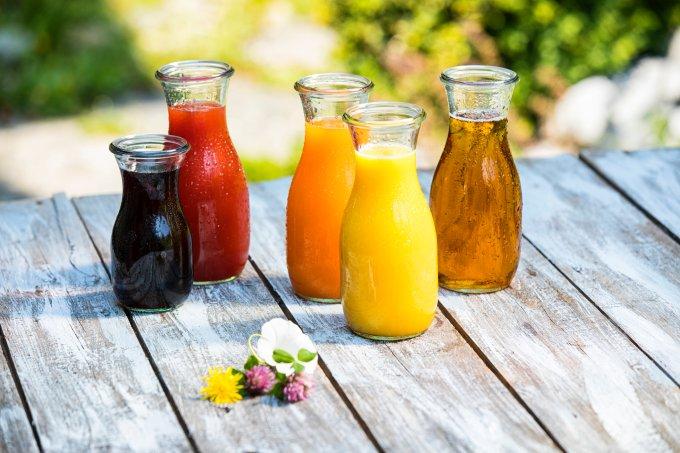 tipos de sucos integral concentrado reconstituído