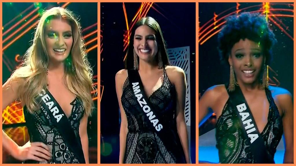 Top 3 Miss Brasil 2018
