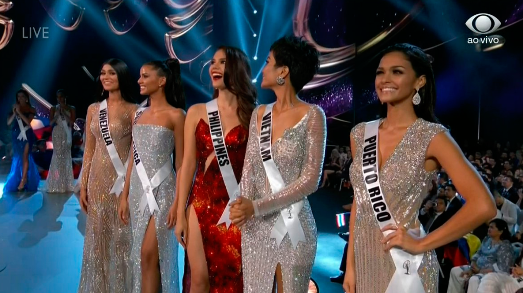 Top 5 do Miss Universo 2018