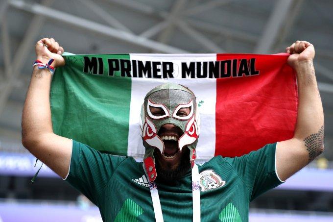 Torcedor do Mexico Copa do Mundo