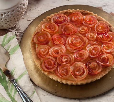 torta-de-rosas-de-maca