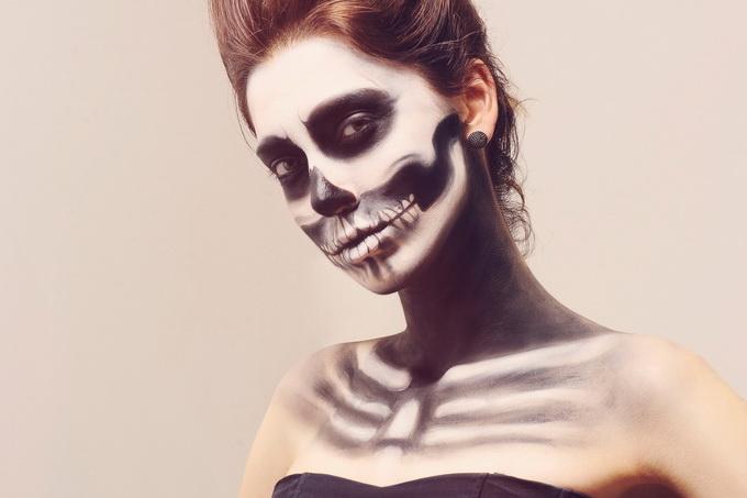 Tutoriais de maquiagens assustadoras para o Halloween