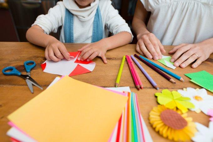Tutoriais para fazer origami com as crianças