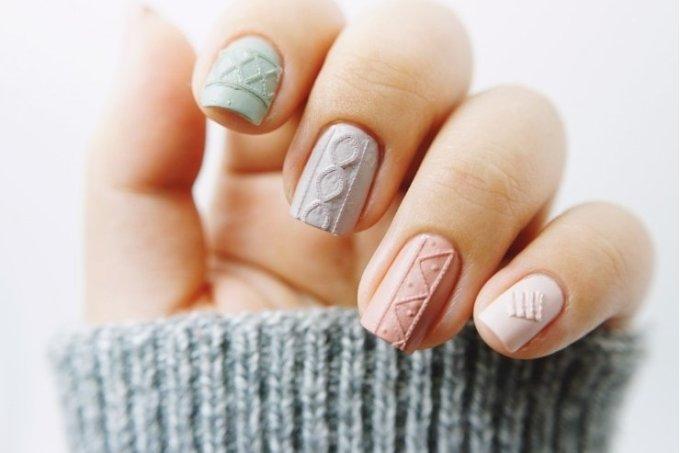 unhas-de-sueter-tendencia-nail-art