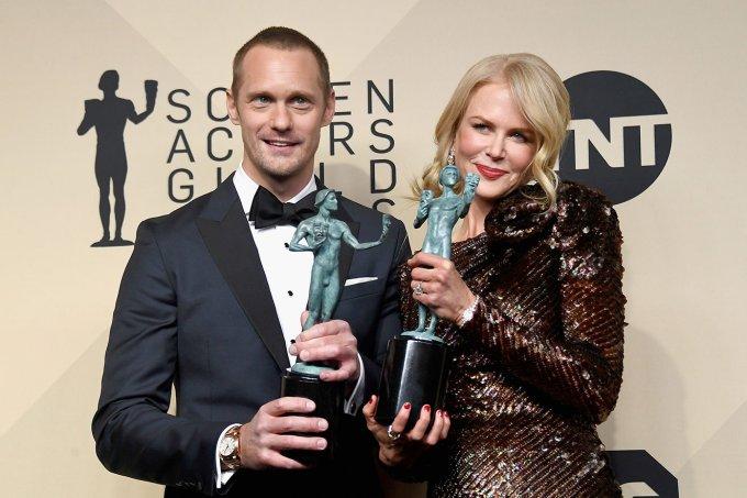 Alexander Skarsgard  e Nicole Kidman
